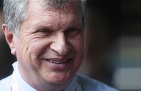 Президент, председатель правления НК «Роснефть» Игорь Сечин.