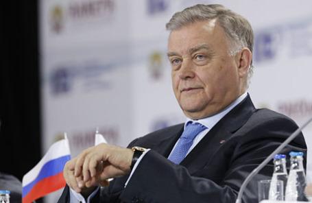 Глава РЖД Владимир Якунин.