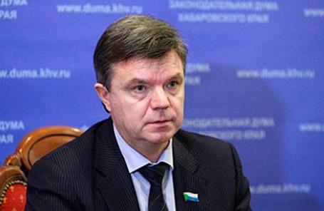 Экс-глава Хабаровской краевой думы Виктор Чудов.