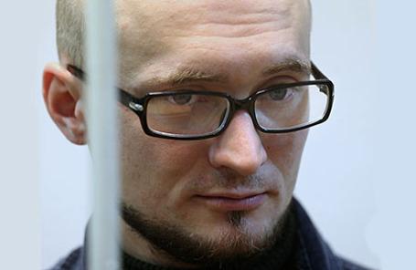 Олег Миронов, обвиняемый в распылении перцового газа на концерте Андрея Макаревича.