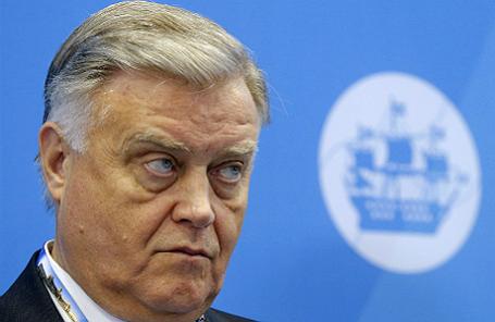 Президент «Российских железных дорог» Владимир Якунин.