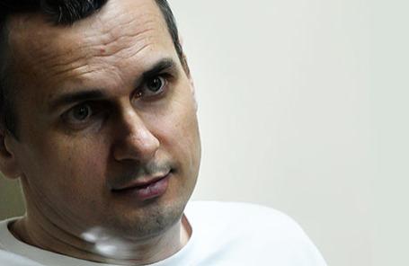 Украинский режиссер Олег Сенцов, обвиняемый в совершении террористических актов в Крыму.