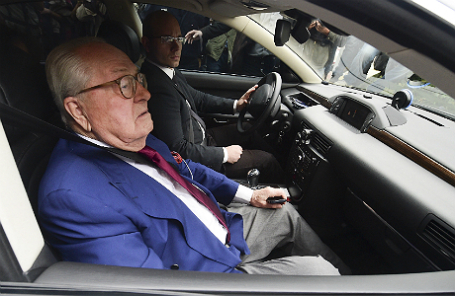 Французский политик Жан-Мари Ле Пен.