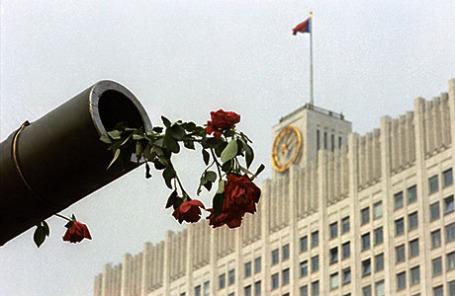 Августовский путч в Москве, 1991 год.