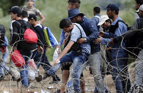 На греко-македонской границе