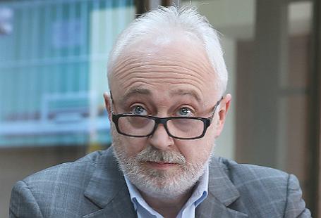 Бывший глава государственной корпорации «Роснанотех» (в 2011 году преобразована в «Роснано») Леонид Меламед, обвиняемый в растрате, во время рассмотрения жалобы защиты на домашний арест в Мосгорсуде.