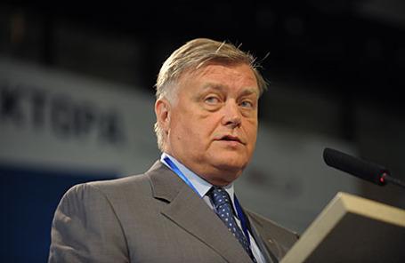Бывший президент «Российских железных дорог» Владимир Якунин.
