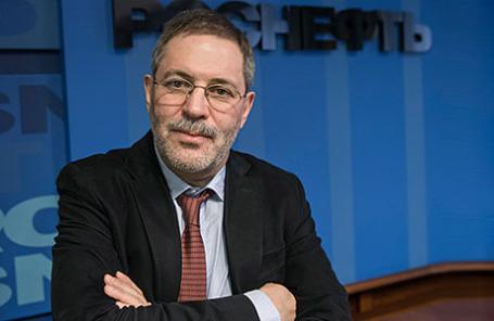 Вице-президент ОАО «НК «Роснефть» Михаил Леонтьев.