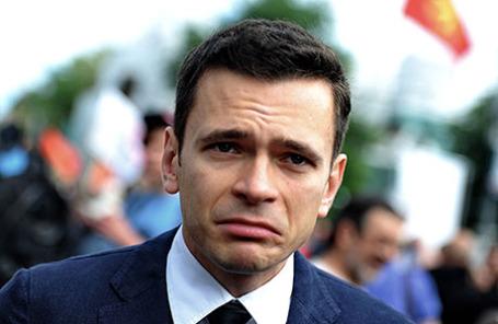 Член бюро федерального политсовета РПР-ПАРНАС Илья Яшин.