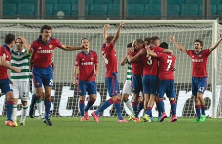 Лига чемпионов UEFA: ЦСКА (Россия) — «Спортинг» (Португалия) — 3:1.