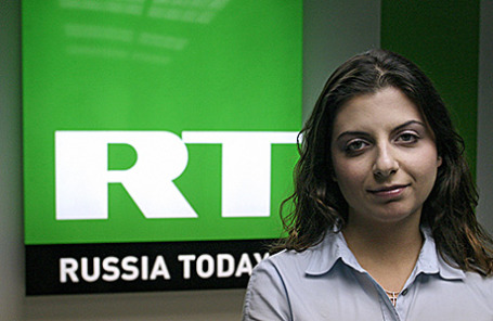 Главный редактор телеканала «Russia Today» Маргарита Симоньян.