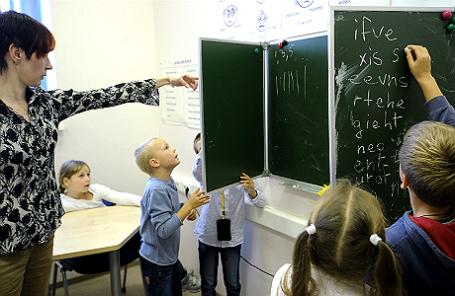 Обучение английскому языку детей.