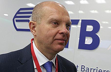 Первый заместитель президента – председателя правления ВТБ Юрий Соловьев.