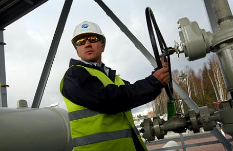 Церемония пуска в эксплуатацию второй ветки газопровода «Северный поток».