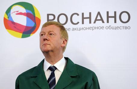 Глава «Роснано» Анатолий Чубайс.