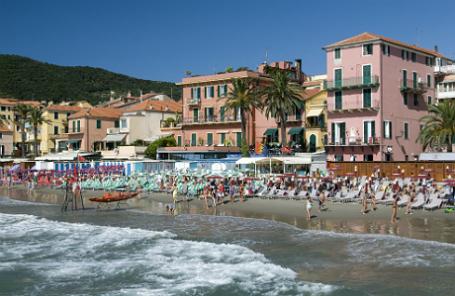 Итальянский курорт Алассио.