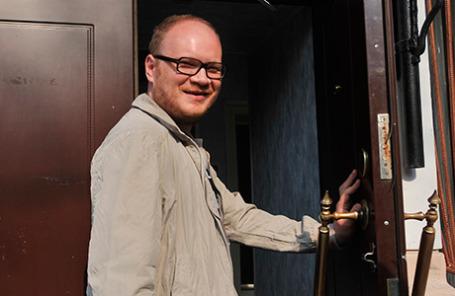Журналист Олег Кашин.