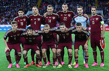Сборная России по футболу.