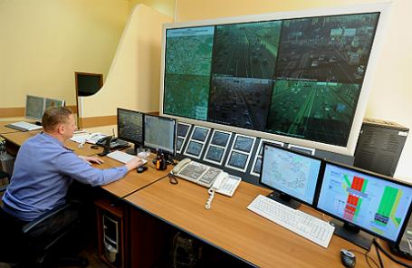 Центра телеавтоматического управления движением транспорта Управления ГИБДД Москвы.