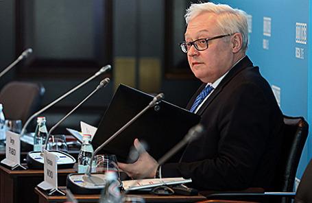 Заместитель министра иностранных дел РФ Сергей Рябков.