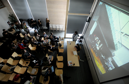 Институт медиа, архитектуры и дизайна «Стрелка».