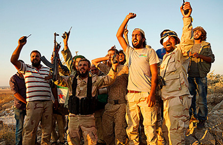 Сирийские повстанцы.