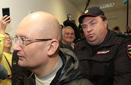 Управляющий АО «Заслон» Александр Горбунов (слева).