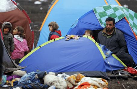 Нелегальные мигранты в Венгрии