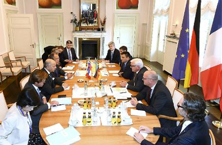 Переговоры глав МИД по Украине в Берлине.