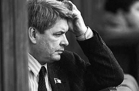 Юрий Афанасьев, 1989 год.