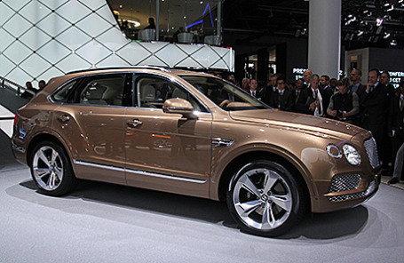 Bentley Betayga.