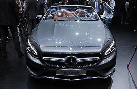 Mercedes-Benz S-класс кабриолет.