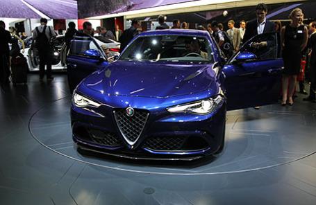 Alfa Romeo Gulia.