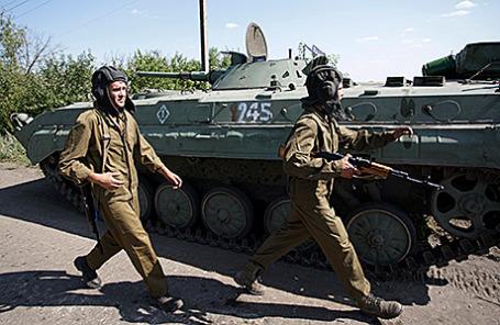 Военнослужащие ДНР.