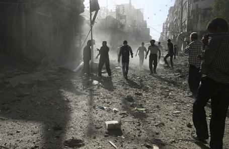Окрестности Дамаска.