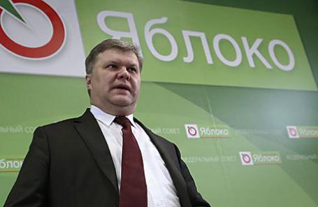 Председатель партии «Яблоко» Сергей Митрохин.