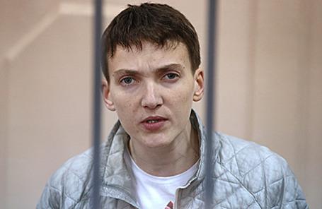 Летчица Надежда Савченко.