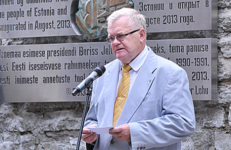 Мэр Таллина Эдгар Сависаар.