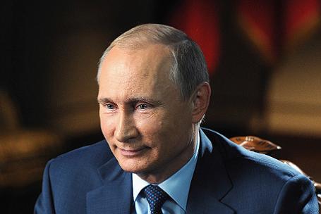 Президент РФ Владимир Путин дал интервью американскому журналисту для телеканалов CBS и PBS.