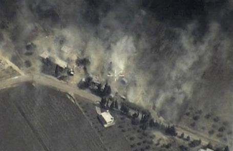 Российская авиационная группа нанесла точечные удары по объектам террористической организации ИГИЛ в Сирии