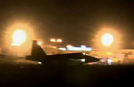 Российский военный самолет в Сирии.