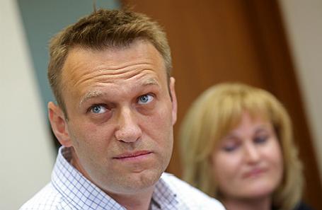 Алексей Навальный в Люблинском суде Москвы.