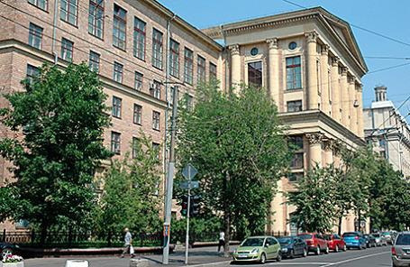 Здание Российского Государственного гуманитарного университета (РГГУ).