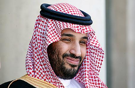Принц Мухаммед бен Сальман.