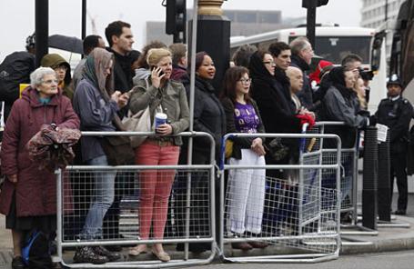 Жители Лондона.