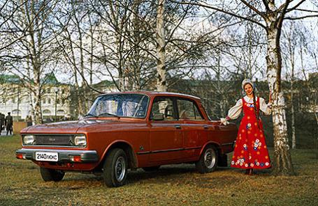 Автомобиль «Москвич» 2140 «Люкс», 1980 год.