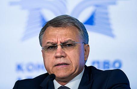Генеральный директор концерна «Алмаз-Антей» Ян Новиков.