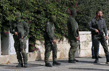 Израильская полиция.