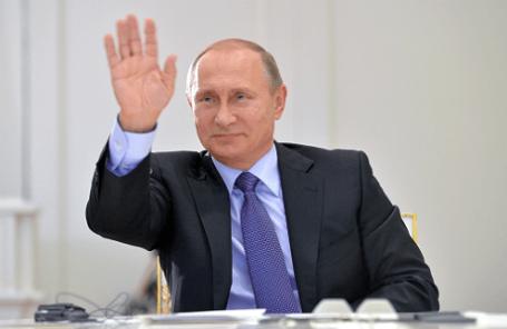 Президент России В.Путин