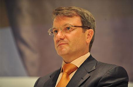 Президент, председатель правления Сбербанка РФ Герман Греф.